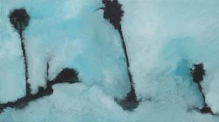 The heat_33cmx19cm_Oil on Canvas