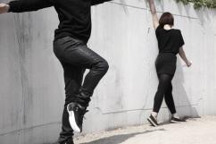 2 능동포즈 Active pose_ 장소특정적 퍼포먼스, 오프닝 당일, 혜화문 성벽 일대_ 2014 _리허설 모습