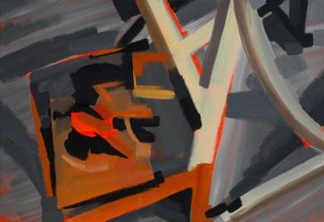 201444, acrylic and oil on canvas, 89.4×130.3(cm), 2014