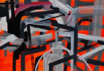 201445, acrylic and oil on canvas, 89.4×130.3(cm), 2014