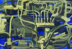 201450, acrylic and oil on canvas, 89.4×130.3(cm), 2014