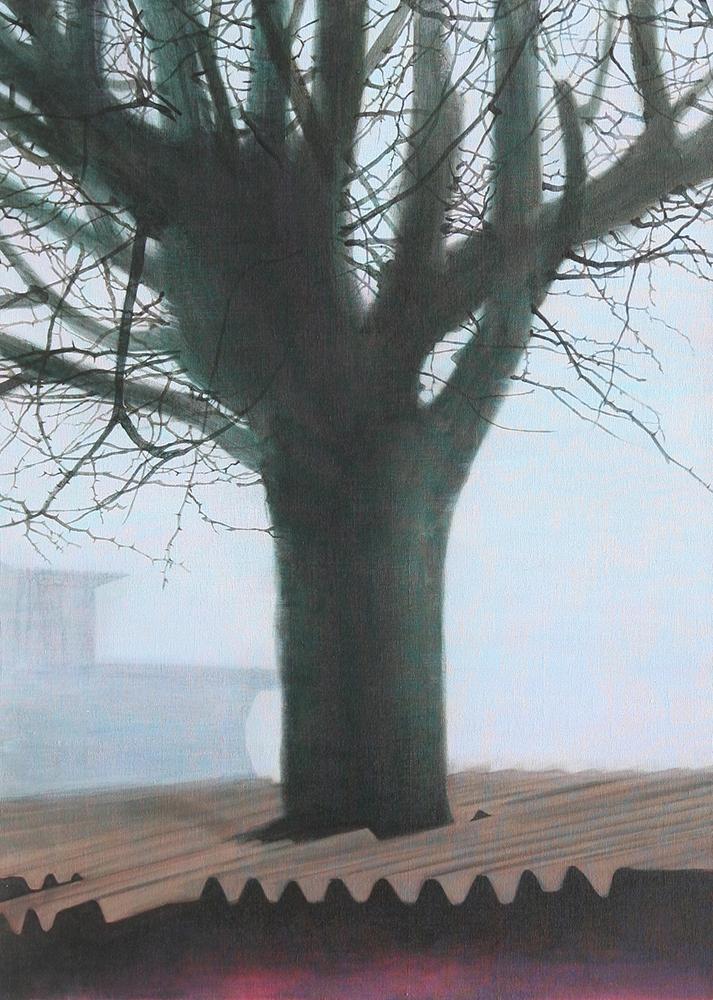 김희연_숨#7 (Breath#7)_Acrylic on linen_90.9x72.7cm_2013
