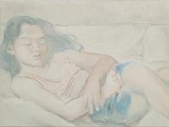 낮잠_ oil on canvas_60.6X45.5cm_ 2009