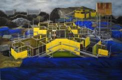 더미 OilPigment on canvas, 194×130.3cm 2013