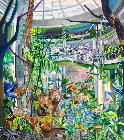 자연사 박물관, oil on canvas, 150x170cm, 2013