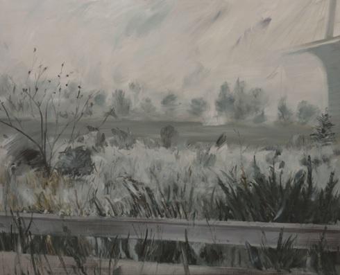 자유로_oil on canvas_130.3x162.2cm_2014
