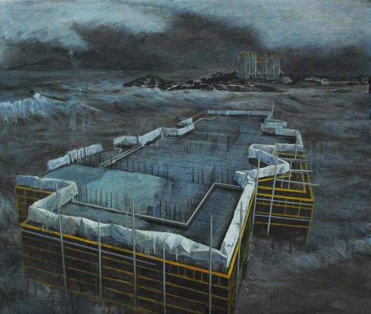 창백 해(海) Oil on canvas, 72.7×60.6cm 2012