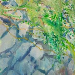 축대_ oil on canvas_ 80.3x53cm_ 2015