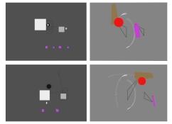 희생의 춤, 3D computer animation, Stills, hyeran kim, 2015
