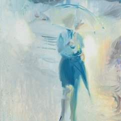 rain for two(1)_ oil on canvas_80.3x60.6cm_ 2015
