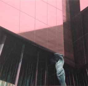 untitled , 100 x 100 cm, acrylic on canvas, 2012