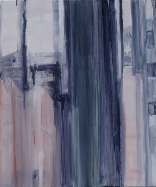 Curtain, Oil on linen, 45.5×38cm, 2013
