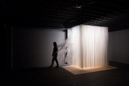 무제_Untitled, 비닐, 3.3m² 가변설치, 2017